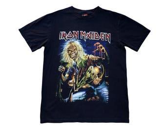 Iron Maiden Band Shirt Vintage