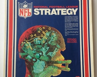 Tudor, NFL Strategy game, complete, 1976.
