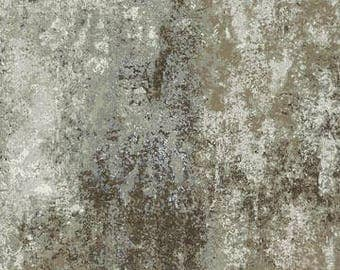 100% Cotton fabric by half yard increments: Northcott Stonehenge Woodland Winter (39070-92) abstract stone in grays and browns