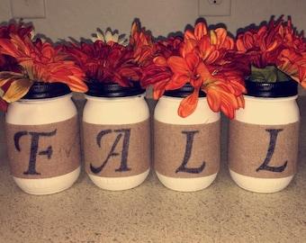 Fall Mason Jar Decor