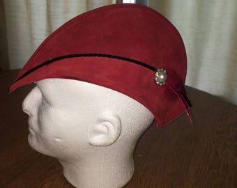 ARCHER CAP - SUEDE