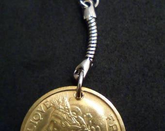 Keychain 2 francs Morlon