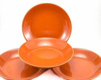 """FLASH SALE Prisma Coral by Vista Alegre 9"""" Individual Pasta Bowl SET Of 4"""