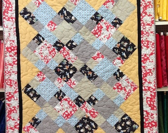 Alice in Wonderland Quilt