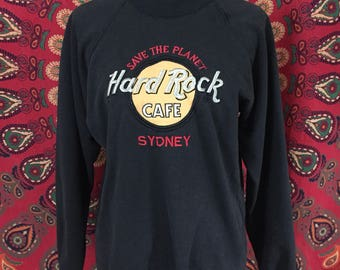 Vintage Hard Rock Cafe Sydney Crewneck
