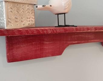 XL Wall shelf made from pallet wood