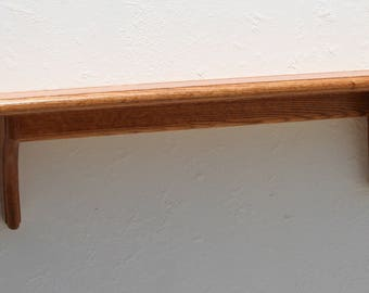 Solid Oak Wood Shelf