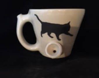 Hot Tea Kitty PIPEMUG