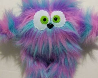 Multi Color Faux Fur Plushy!!!
