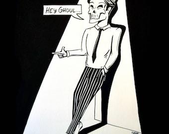 Hey Ghoul Print