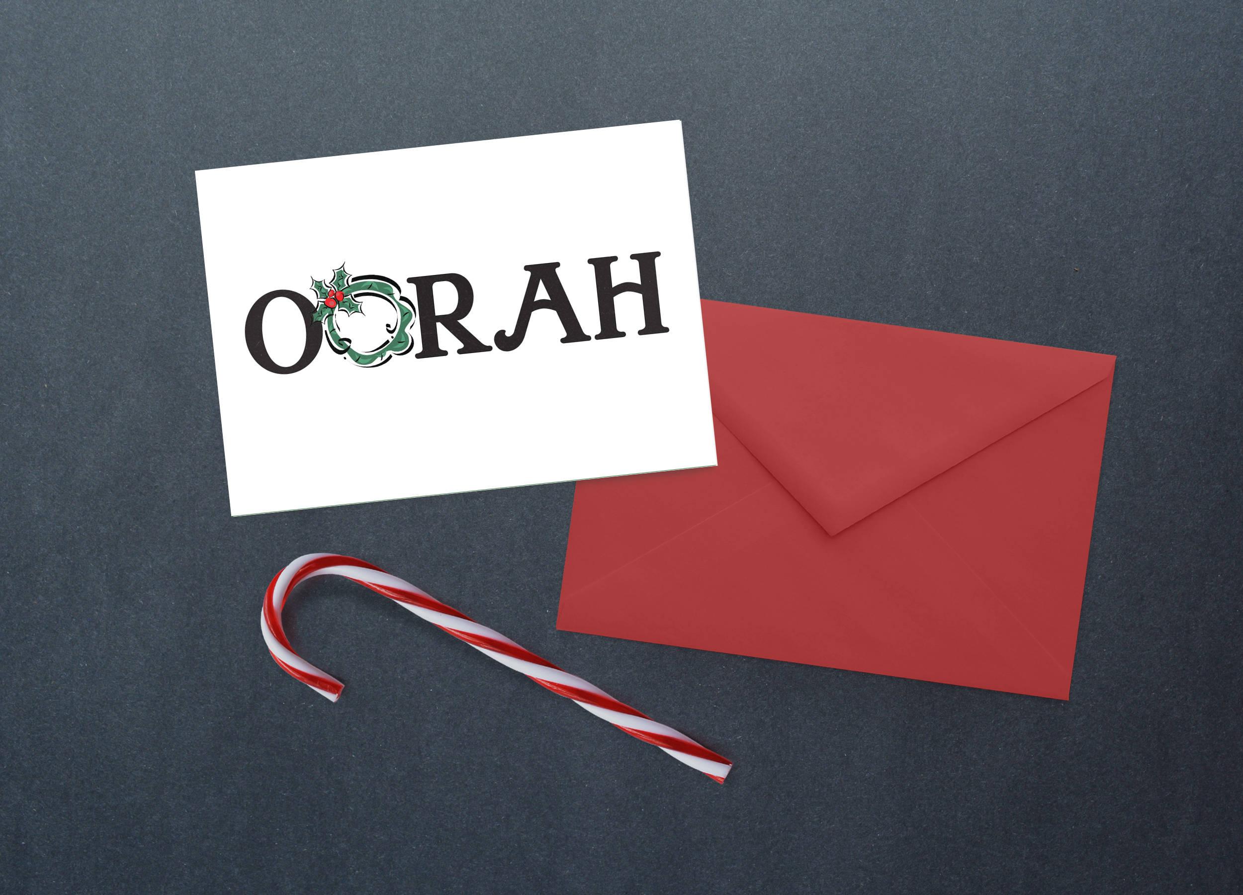 Oorah Holiday Cards Marines Christmas Cards Military Greeting