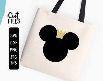 Minnie svg, CROWN Minnie Mouse SVG files,  Minnie mouse silhouettes, Minnie mouse clipart, disney svg files for silhouette cricut download