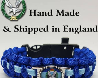 Army Air Corps Badged Survival Bracelet Tactical Edge