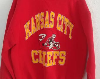 Vintage Kansas City Chiefs Sweater--Size XL (Fits more like Medium)