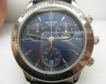 Gents Movado 1950 Chronograph watch 84.A5.863
