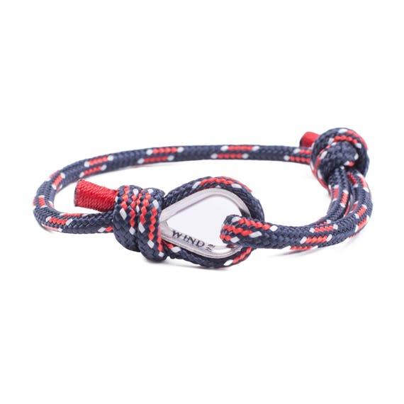 SAILING BRACELET - nautical bracelet, marine jewelry, power bracelet, jewelry bracelet, surfing bracelet, navy blue bracelet, marine jewelry