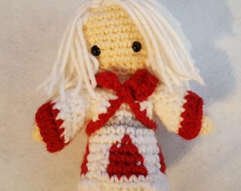 Simple Custom Crochet Character Chibi