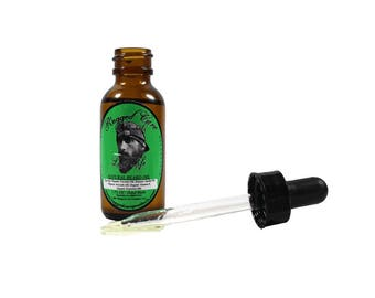 All Organic Hand Made Beard & Mustache Oil - (Lake Life) Beard Oil