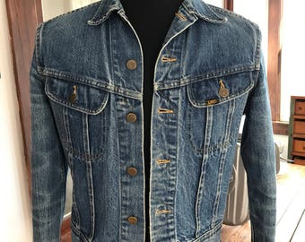 Vintage 1980's / 1990's Lee Denim Jacket