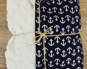 Sail with me Baby Blanket
