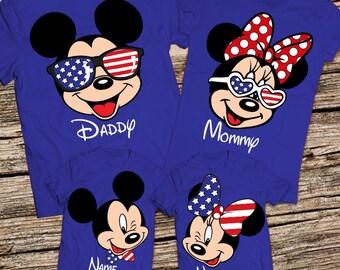 Matching Family Disney Shirts, Family disney world shirts, Disney Family Shirts, Personalized Disney Shirts for Family, Disney group shirts