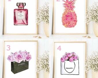 Chanel range - peonies / pinapple / purfume