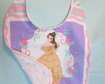 Disney's Belle Reversible Baby Bib