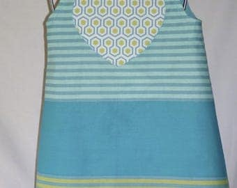 Dress style pinafore, size and your choice