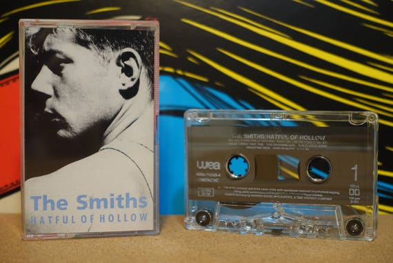 Hatful Of Hollow (RARE UK Pressing) by The Smiths Vintage Cassette Tape