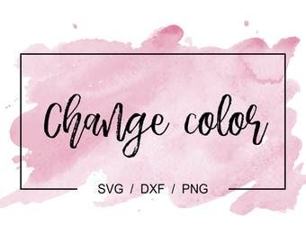 Color Change Fee