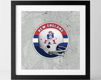 Vintage NFL: New England Patriots-inspired