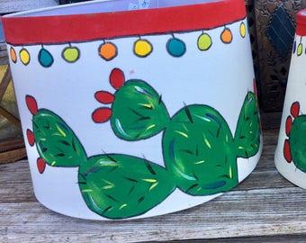 Large Cactus lampshade