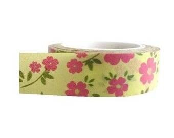 Washi Tape/Masking Tape/ribbon flowers scrapbooking adhesive