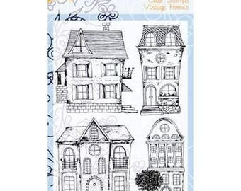 Clear stamps transparent scrapbooking JOY CRAFTS VINTAGE HOMES.