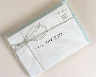 Save the Date Set of 6 Cards