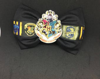 Harry Potter house bow