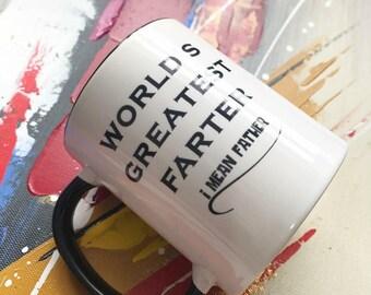 World Greatest Father / Custom Mug / Personalized Mug / Gift for Him / Father / Christmas Gift