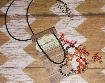 Elijah's Minnie Harvest Time Inspired Bejeweled Necklace