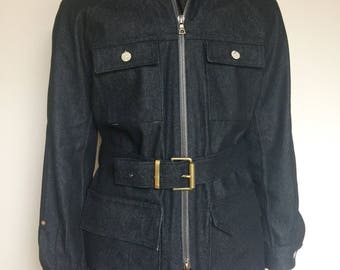 Men's Denim Field Jacket | Denim Chore Coat