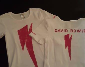 KIDS Line - Lightning Bolt Tshirt - dark pink on white