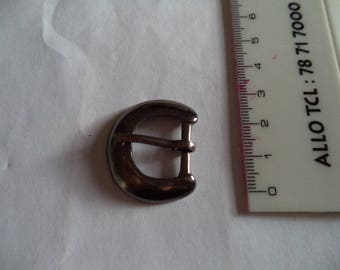 round belt buckle of superb quality width 2.5 cm