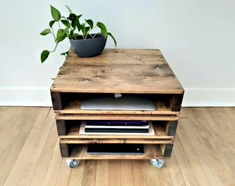 NEW! Office/Study Storage Table, Office storage, Pallet Coffee Table. Rustic Coffee Table, Industrial Coffee Table, Office Table