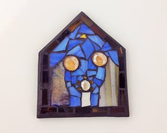 Stained Glass Nativity Scene Small Nativity Set Christmas Decor Handmade Christmas Decor Christmas Gift Ideas Stained Glass Different Colors