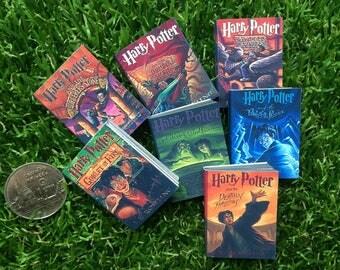 Doll's books : Harry Potter Book set for dolls