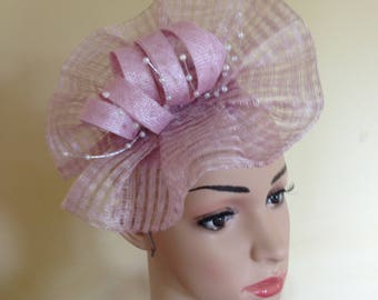 Pale Pink Fascinator,Pink Ascot Fascinator,Ascot Fascinator Pink,Wedding Hat Pink,Pink Wedding Hat,Hats and Fascinators,Pink Ascot Hats,