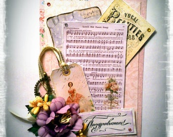"Card ""Giselle, ou les Wilis. Romance """