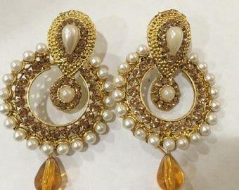 Indian Bollywood Party Wear Jhumka Jhumki earrings