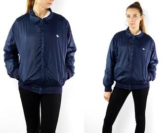 Adidas Bomber Jacket Adidas Jacket Adidas Windbreaker 90s Adidas Jacket Vintage Adidas Jacket 90s Windbreaker 90s Track Jacket Adidas