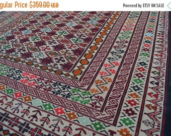 35% OFF Final sale High Quality hand woven malaki kilim/ tribal kilim