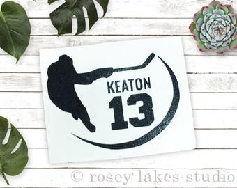 Hockey Decal / Car Window Decal / Laptop Decal / Yeti Decal / Anywhere Decal